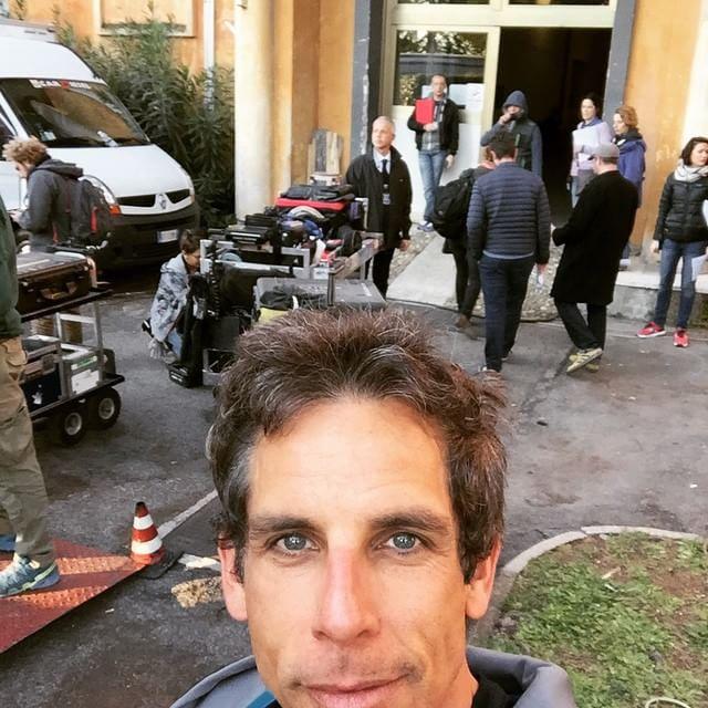 """Ben Stiller saluta la Capitale con Selfie di addio: """"Mamma Roma, già mi manchi""""12"""