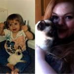 Cani e gatti di casa, la prima e l'ultima FOTO insieme8
