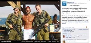 Gay libanese con i soldati israeliani sorridenti: FOTO diventa virale7