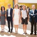 Letizia Ortiz di Spagna all'Expo sceglie ancora il total white 15