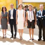 Letizia Ortiz di Spagna all'Expo sceglie ancora il total white 14