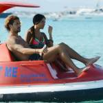 Alessio Cerci e la moglie: baci e selfie sul pedalò a Formentera10