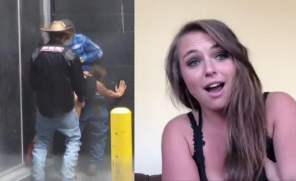 Alexis Frulling lo fa per strada con 3 uomini, Video diventa virale: la replica