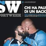 Bacio gay su copertina Sportweek FOTO: è la prima volta in Italia per un giornale sportivo2