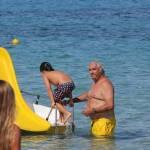 Flavio Briatore papà affettuoso: al mare in Costa Smeralda senza la Gregoraci7