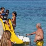 Flavio Briatore papà affettuoso: al mare in Costa Smeralda senza la Gregoraci8
