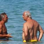 Flavio Briatore papà affettuoso: al mare in Costa Smeralda senza la Gregoraci14
