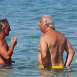 Flavio Briatore papà affettuoso: al mare in Costa Smeralda senza la Gregoraci2