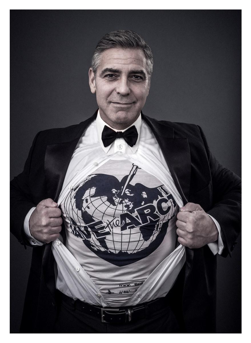 George Clooney, Hugh Grant, Chris Martin...60 star con Greenpeace per l'Artico1