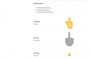 Whatsapp dito medio: nuova emoticon, come usarla e chi può inviarla