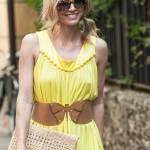 Elena Barolo, shopping in via Montenapoleone col cagnolino Whisky e l'amica03
