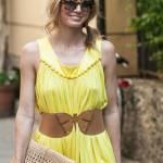 Elena Barolo, shopping in via Montenapoleone col cagnolino Whisky e l'amica02