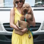 Elena Barolo, shopping in via Montenapoleone col cagnolino Whisky e l'amica14