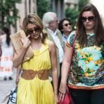Elena Barolo, shopping in via Montenapoleone col cagnolino Whisky e l'amica12