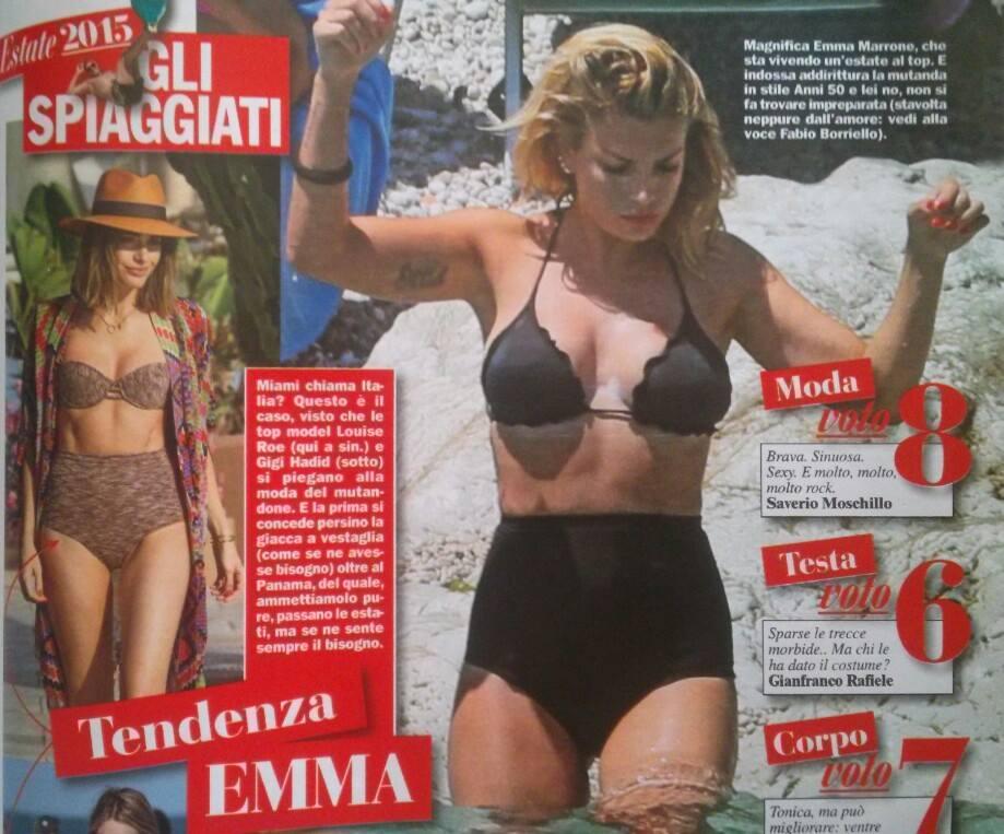 Emma Marrone in bikini, fisico al top. La FOTO su Chi
