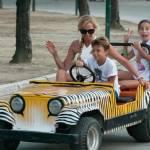 Federica Panicucci vacanze da mamma senza Fargetta: al mare con figli e amiche123