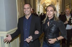 Yanis Varoufakis, chi è Danae Stratos: moglie dell'ex ministro delle finanze greco FOTO