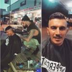 Nasi Sobhani, il barbiere che taglia capelli gratis ai barboni di Mebourne9