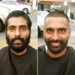 Nasi Sobhani, il barbiere che taglia capelli gratis ai barboni di Mebourne16