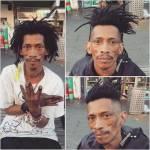 Nasi Sobhani, il barbiere che taglia capelli gratis ai barboni di Mebourne5