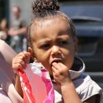 Kim Kardashian incinta, al cinema con Kanye West e la piccola North9