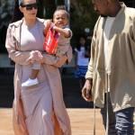 Kim Kardashian incinta, al cinema con Kanye West e la piccola North6
