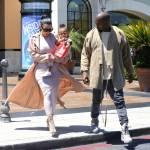 Kim Kardashian incinta, al cinema con Kanye West e la piccola North3