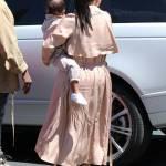 Kim Kardashian incinta, al cinema con Kanye West e la piccola North2