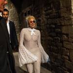 Lady Gaga in giro prima si salire sul palco di Umbria Jazz con Tony Bennet 1