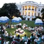 Barack Obama e Michelle ospitano 50 giovani scout alla Casa bianca06