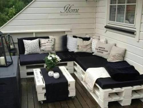 Idee Per Il Giardino Di Casa : Pallet: tante idee per arredare casa e giardino a costo zero o