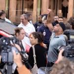 Parigi, animalisti Fondazione Bardot protestano contro Fendi5