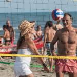 Daniela Santanchè fisico da ragazzina: in vacanza gioca a beach volley 3