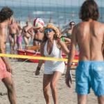 Daniela Santanchè fisico da ragazzina: in vacanza gioca a beach volley 2