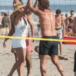 Daniela Santanchè fisico da ragazzina: in vacanza gioca a beach volley 4