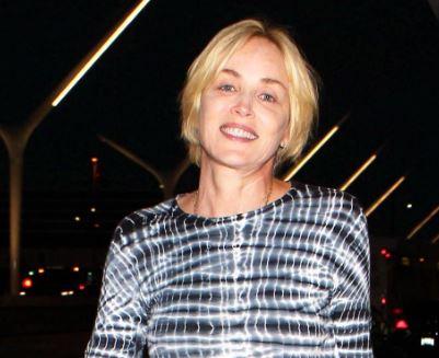 Sharon Stone senza trucco in giro per Los Angeles FOTO