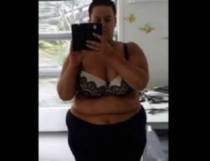 Simone Anderson, obesa, perde 86 kg in un anno: insultata sui Social