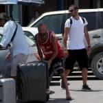 Leonardo Bonucci ritorna a Torino dopo la vacanza a Formentera FOTO