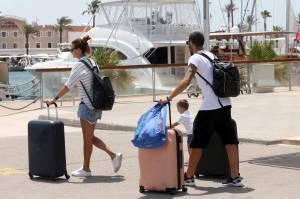 Leonardo Bonucci ritorna a Torino dopo la vacanza a Formentera FOTO 8
