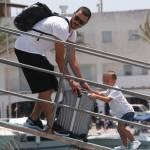 Leonardo Bonucci ritorna a Torino dopo la vacanza a Formentera FOTO 12