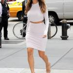 Nicole Scherzinger sempre più curvy e...bionda. Abiti super aderenti a New York FOTO 3