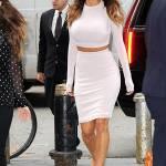 Nicole Scherzinger sempre più curvy e...bionda. Abiti super aderenti a New York FOTO 8