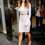 Nicole Scherzinger sempre più curvy e...bionda. Abiti super aderenti a New York FOTO 10