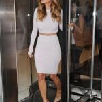 Nicole Scherzinger sempre più curvy e...bionda. Abiti super aderenti a New York FOTO 11