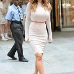 Nicole Scherzinger sempre più curvy e...bionda. Abiti super aderenti a New York FOTO 14