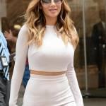 Nicole Scherzinger sempre più curvy e...bionda. Abiti super aderenti a New York FOTO 23