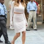 Nicole Scherzinger sempre più curvy e...bionda. Abiti super aderenti a New York FOTO 24