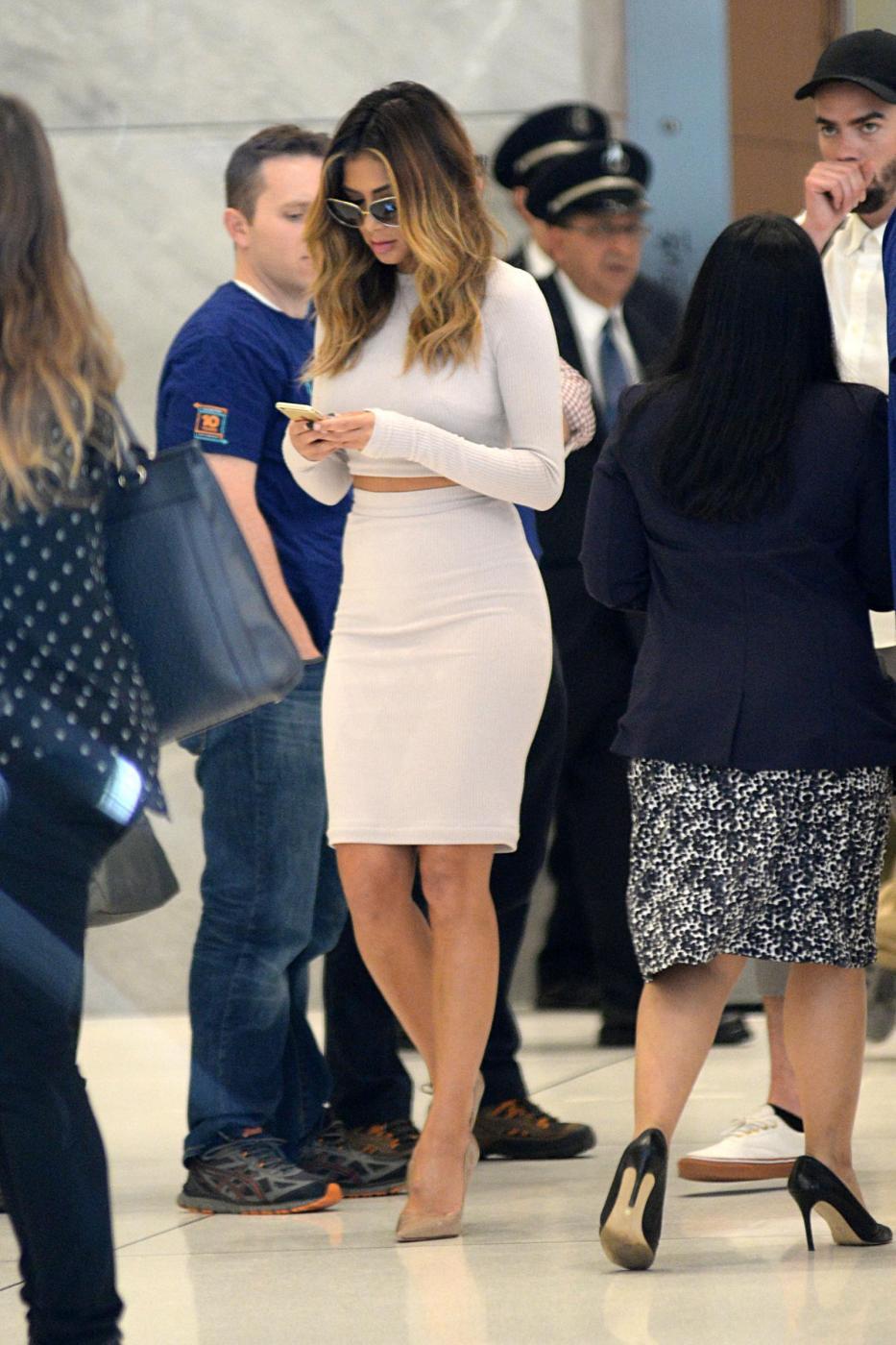 Nicole Scherzinger sempre più curvy e...bionda. Abiti super aderenti a New York FOTO FG