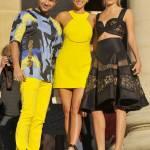 Irina Shayk, Naomi Campbell, Rosie Huntington-Whiteley alla sfilata Versace a Parigi FOTO
