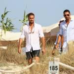 Marco e Fabio Borriello in vacanza a Formentera FOTO 3